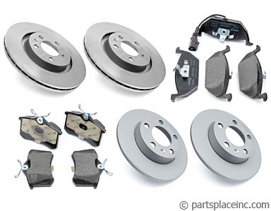 MK4 2.0L and TDI Complete Brake Kit
