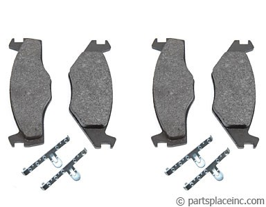 MK1 and MK2 Front Brake Pads For Vented Discs