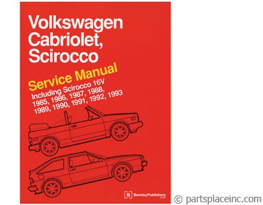 Cabriolet and Scirocco Bentley Manual