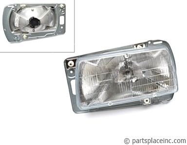 MK2 Jetta & Golf Driver Side Headlight