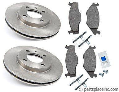 MK1 and MK2 Vented Front Brake Kit