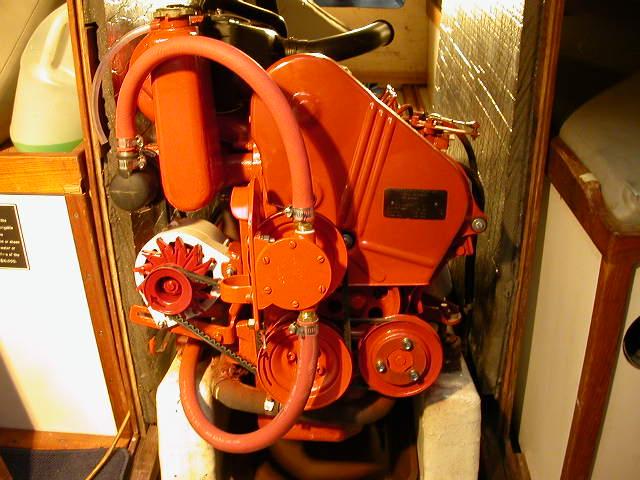 Volkswagen Marine Pathfinder Engine